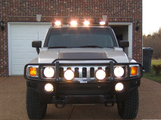 Hummer h3 roof light bar kit best roof 2017 hummer h3 roof light bars 12 300 about aloadofball Image collections