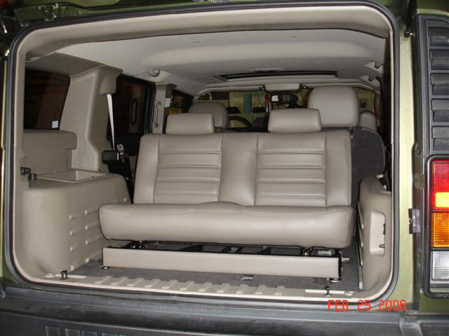 Third Row Bench Seat Hummer Forums Enthusiast Forum