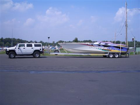 Just bought a 26' boat - will my H2 have any prob towing with stock