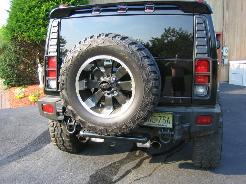 WTB, H2 spare tire carrier - Hummer Forums by Elcova