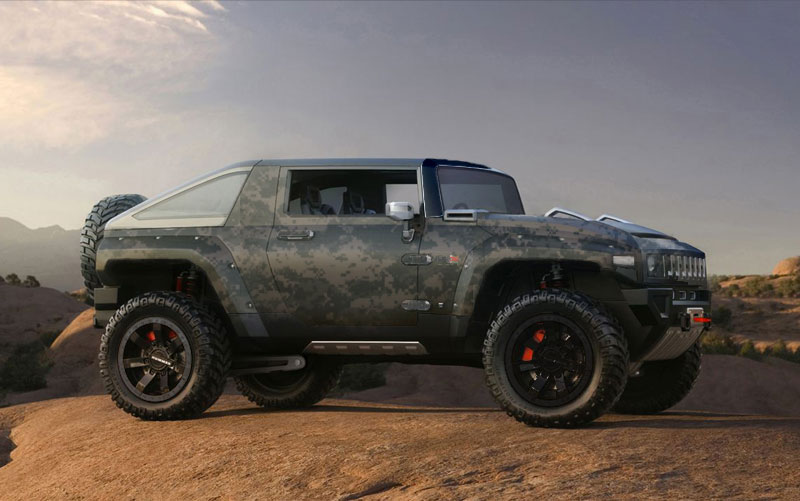 Hummer Hx Concept Cars Drive Away 2day