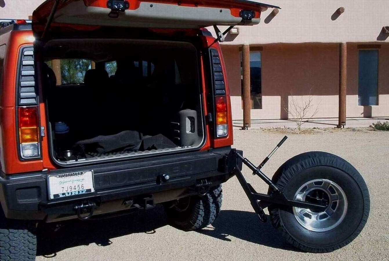 hummer h2 spare tire mount autos post. Black Bedroom Furniture Sets. Home Design Ideas