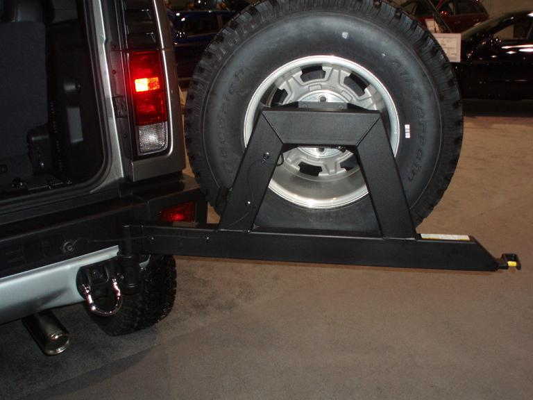 wtb h2 spare tire carrier hummer forums by elcova. Black Bedroom Furniture Sets. Home Design Ideas